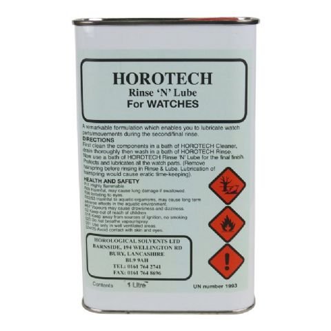 HOROTECH Rinse 'N' Lube For WATCHES 1lt